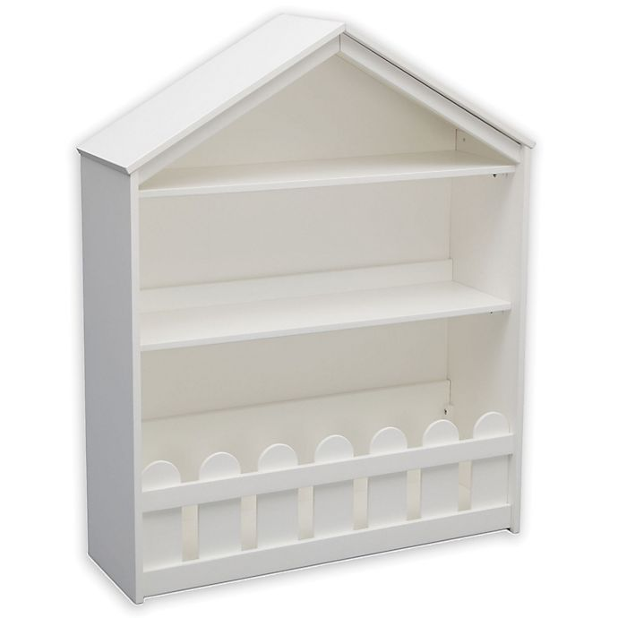 Alternate image 1 for Serta Happy Home Storage Bookcase in White