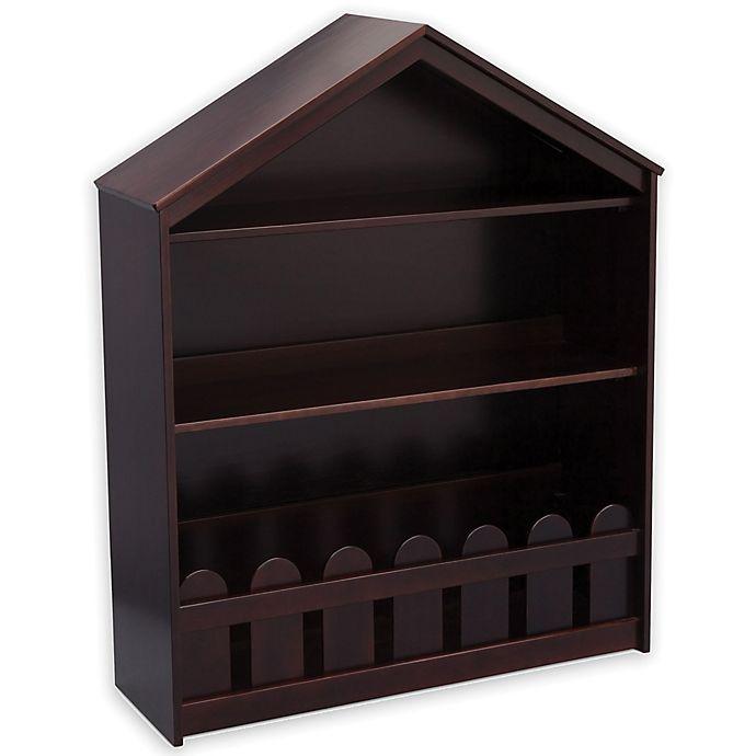 Alternate image 1 for Serta Happy Home Storage Bookcase in Dark Chocolate