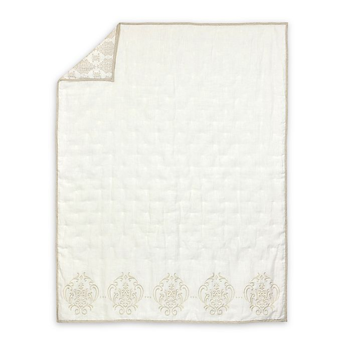 Alternate image 1 for Just Born™ Keepsake Quilt in Cream