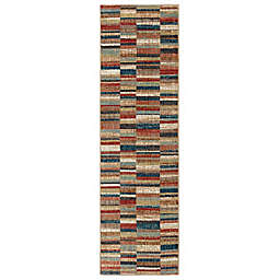 Mohawk Home Squared Up 2-Foot x 7-Foot Multicolor Runner