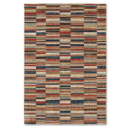 Alternate image 1 for Mohawk Home Squared Up Area Rug in Multi