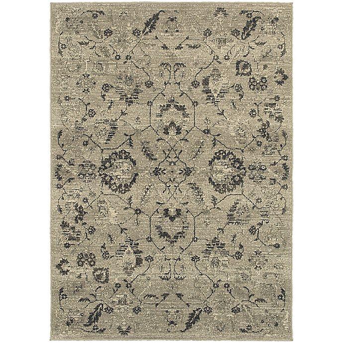 Alternate image 1 for Oriental Weavers Highlands 7-Foot 10-Inch 10-Foot 10-Inch Area Rug in Beige