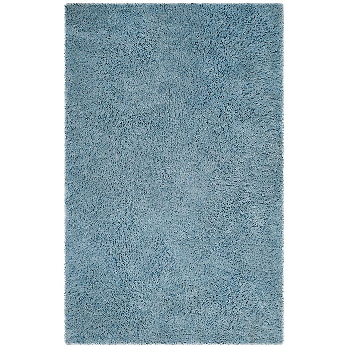 Alternate image 1 for Safavieh Florence 8-Foot x 10-Foot Shag Area Rug in Light Blue