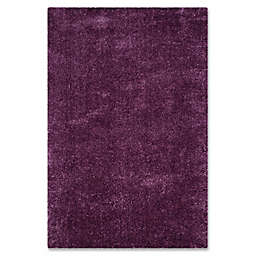 Safavieh Indie 5-Foot 1-Inch x 7-Foot 6-Inch Shag Area Rug in Purple