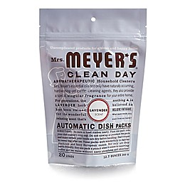 Mrs. Meyer's® 20-Pack Clean Day Auto Dishwashing Packs in Lavender