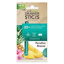 EnviroScent Drawer Sticks in Paradise Breeze (Set of 4)