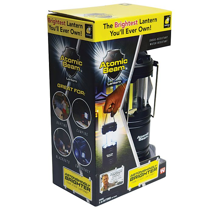 Alternate image 1 for Atomic Beam USA™ Ultra Bright Flashlight in Black