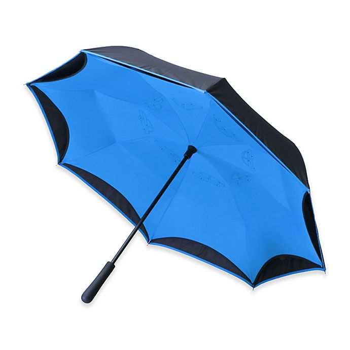 Alternate image 1 for BetterBrella™ Umbrella with Reverse Open/Close Technology
