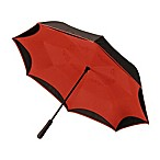 BetterBrella™ Umbrella with Reverse Open/Close Technology in Red