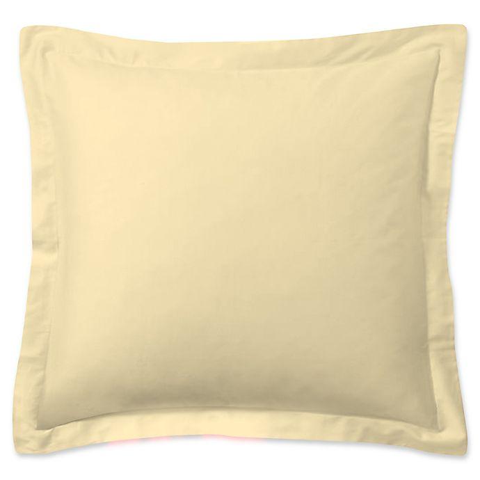 Alternate image 1 for Smoothweave™ European Pillow Sham in Butter