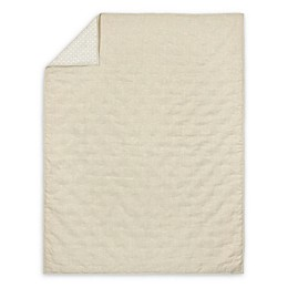 Just Born® Keepsake Washed Linen Quilt in Flax