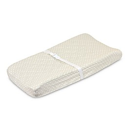 Just Born® Keepsake Washed Linen Changing Pad Cover in Flax