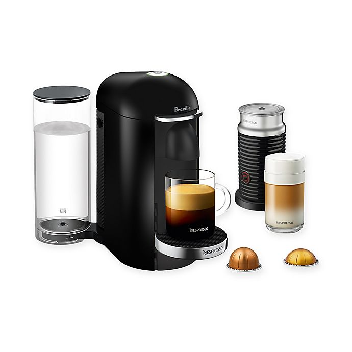 Alternate image 1 for Nespresso® by Breville® VertuoPlus Deluxe Coffee and Espresso Maker Bundle with Aeroccino