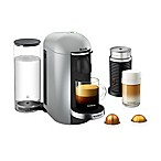 Nespresso® by Breville® VertuoPlus Deluxe Coffee and Espresso Maker Bundle in Silver