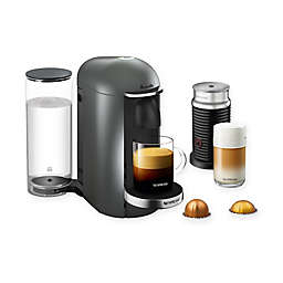 Nespresso® by Breville® VertuoPlus Deluxe Coffee and Espresso Maker Bundle in Titanium