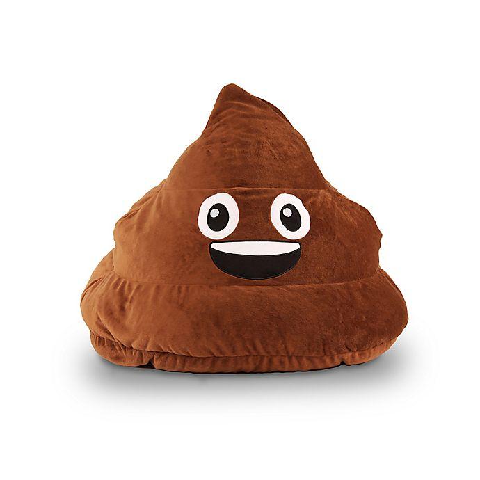Alternate image 1 for GoMoji™ Poop Emoji Bean Bag in Brown