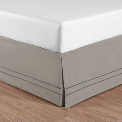 Linenweave Hemstitch Bed Skirt Bed Bath Amp Beyond