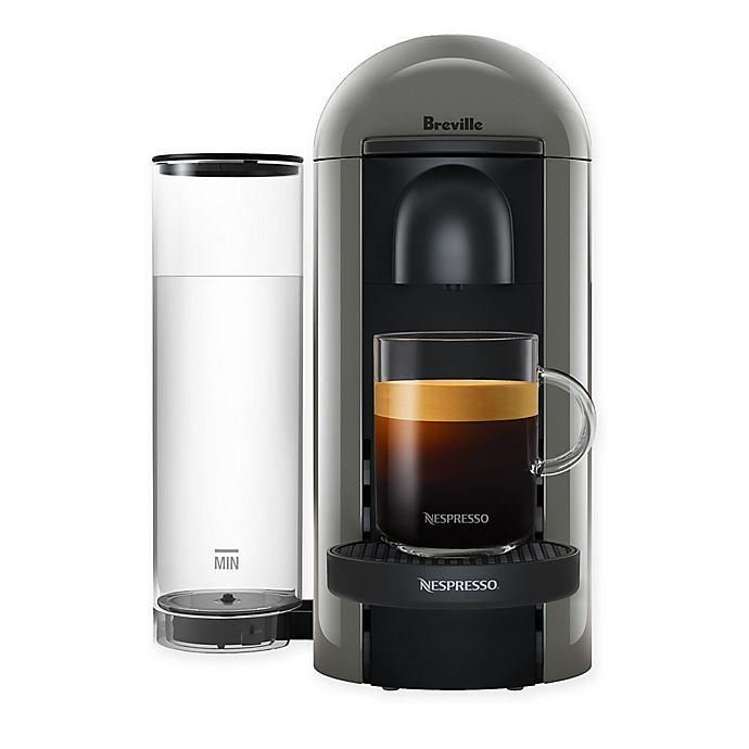 Alternate image 1 for Nespresso® by Breville®  VertuoPlus Coffee and Espresso Maker in Grey