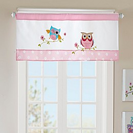 Mi Zone Kids Wise Wendy Straight window Valance in Pink
