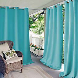 Elrene Connor Indoor/Outdoor Grommet Top Window Curtain Panel