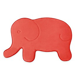 Laura Ashley Elephant Memory Foam 20-Inch x 32-Inch Bath Rug