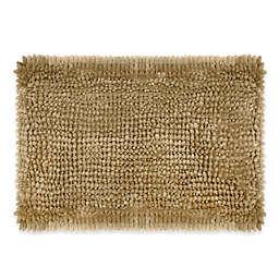 Laura Ashley® Butter Chenille 17''x 24'' Bath Rug in Linen
