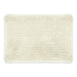 Laura Ashley® Butter Chenille Bath Rug