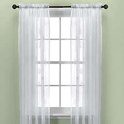 Croscill® Sanibel Island Sheer Window Curtain Panel in White