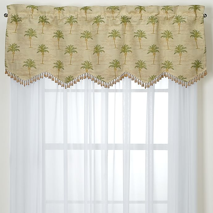 Alternate image 1 for South Beach Palm Valance