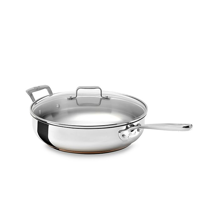 Emerilware Stainless Steel 5 Quart Saute Pan With Lid