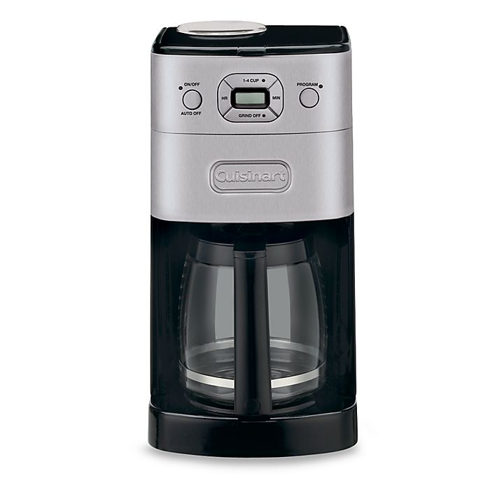 Alternate image 1 for Cuisinart® Grind & Brew™ 12-Cup Automatic Coffee Maker