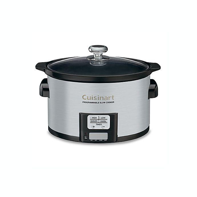 Alternate image 1 for Cuisinart® 3.5 Quart Programmable Slow Cooker