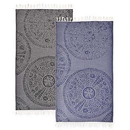 Linum Home Textiles Anatolian Pestemal Beach Towel
