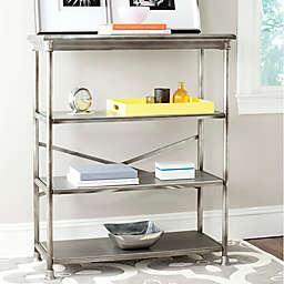 Safavieh Jacinda Large Bookcase in Silver