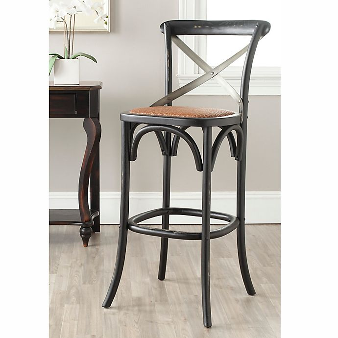 Excellent Safavieh Eleanor Bar Stool In Hictory Bed Bath Beyond Unemploymentrelief Wooden Chair Designs For Living Room Unemploymentrelieforg