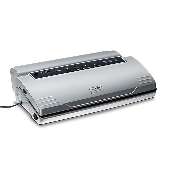 Alternate image 1 for Caso® VC200 Vacuum Food Sealer