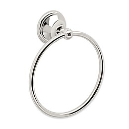Gatco® Laurel Ave Towel Ring in Polished Nickel