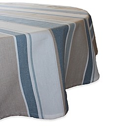 Park B. Smith® Julian 70-Inch Round Stripe Tablecloth in Blue