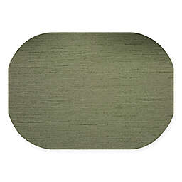 Dasco Cabo Oval Laminated Placemat in Olive