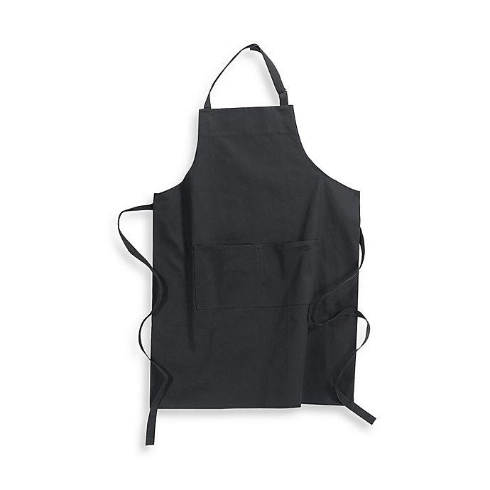 Alternate image 1 for Kitchensmart® Solid Apron in Black