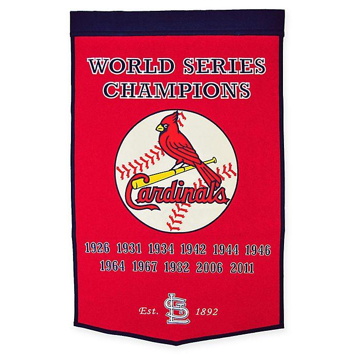 Alternate image 1 for MLB St. Louis Cardinals Dynasty Banner