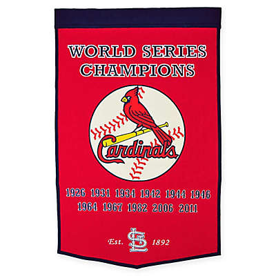 MLB St. Louis Cardinals Dynasty Banner