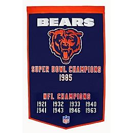 NFL Chicago Bears Dynasty Banner