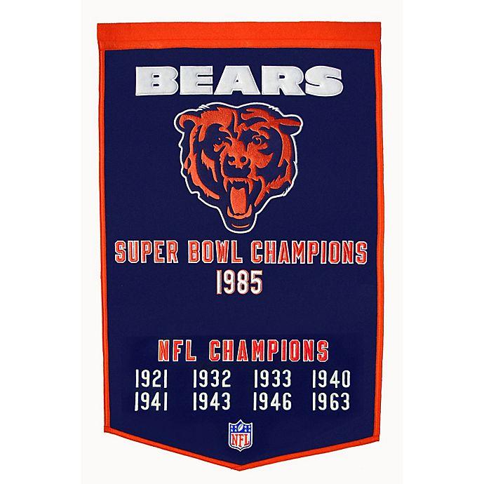 Alternate image 1 for NFL Chicago Bears Dynasty Banner