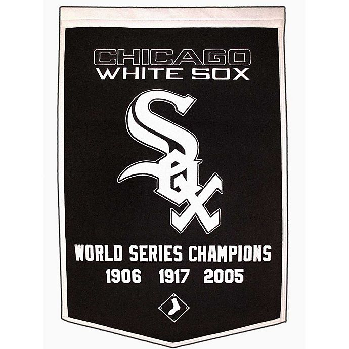 Alternate image 1 for MLB Chicago White Sox Dynasty Banner