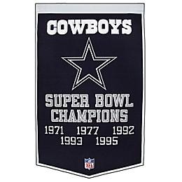 NFL Dallas Cowboys Dynasty Banner