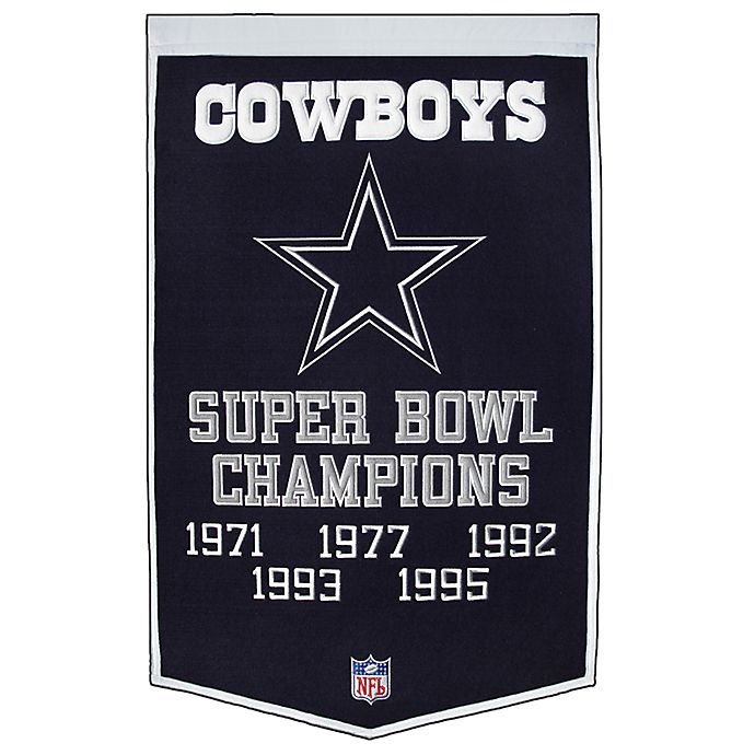 Alternate image 1 for NFL Dallas Cowboys Dynasty Banner