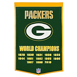 NFL Green Bay Packers Super Bowl XLV Dynasty Banner