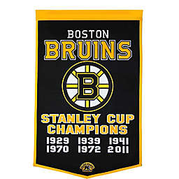 NHL Boston Bruins Dynasty Banner