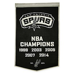 NBA San Antonio Spurs Dynasty Banner